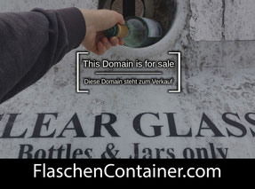 Flaschencontainer.de - this domain is for sale