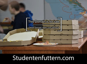 StudentenFuttern.com - this domain is for sale