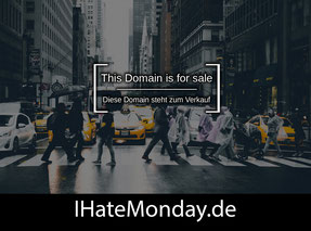 IHateMonday.de - this domain is for sale