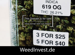 WeedInvest.de - this domain is for sale