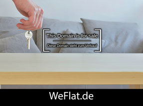 WeFlat.de - this domain is for sale