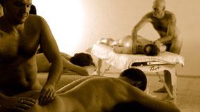 Massage Workshops für Männer