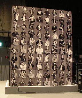 写真を展示したパネル。