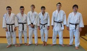 Départ 1er Div. cadets, Parthenay, Samedi 16 janvier Etienne et Lucas (FRR), Julien, Paul, Cédric, Valentin.