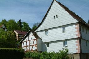 Moderne Ansicht des früheren Hauses Rosenstock - Foto: Peter Schaaf, Buchenau