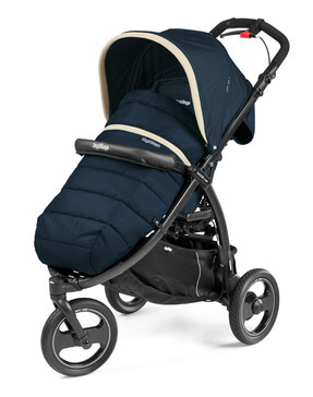 book cross buggy sportwagen dreirad dessin breeze blue