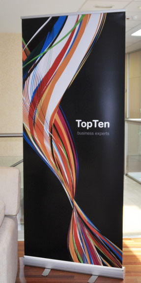 RollUp para TopTen Business Experts (Madrid)