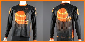 Custom Printed Enduro MTB Jerseys Long Sleeved