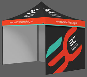 Complete Package Custom Printed Gazebos