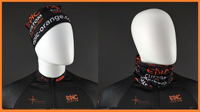 Custom Printed Buff Style Tubular Headwear