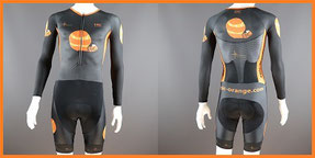 Custom Printed Aero Supersuits Long sleeved Skinsuits
