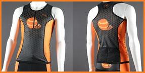 Custom Endurance Triathlon Tops (Custom Tri Tops Front Zip)