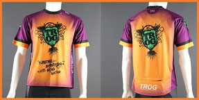Custom Printed Enduro MTB Jerseys Short Sleeved
