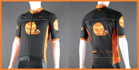 Custom Cycle Gilets with Rear Pocket