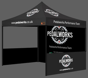 Sports Package Custom Printed Gazebos