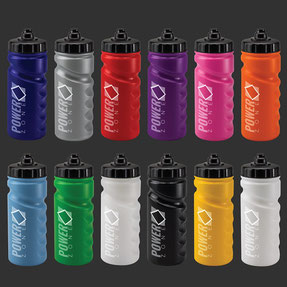 Custom Printed 500ml Finger Grip Sports Bottles