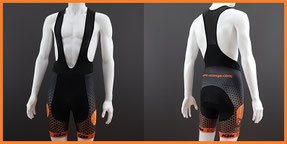 Custom Printed Kids & Youth Cycle Bib Shorts