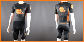 Custom Endurance Tri Speedsuits - Custom Tri Suits with Sleeves & Pockets