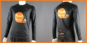 Custom Printed Long Sleeve Run Shirts