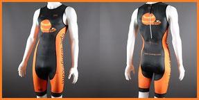 Custom Sprint Triathlon Suits - Custom Tri Suits with Front Zip