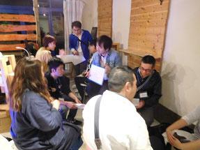 プレセミナー@角田、グループワークの様子