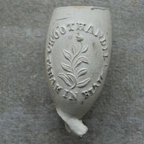 Groothandel Tabak in Bladen. Hielmerk 54 gekroond, Fa van der Want Gouda, ca 1870-1900
