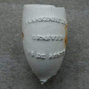 Blankenheym's Genever is de Beste, door de firma Sparnaay Gouda, ca 1880-1905