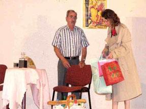 Sketch théâtre Adultes les Achats de Mme