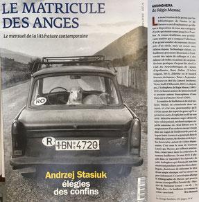 LE MATRICULE DES ANGES par Éric Dussert (juillet 2021)