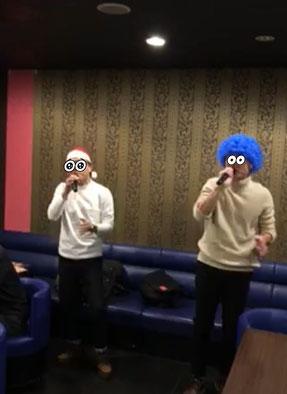 カラオケ忘年会ヒトカラ