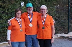 Platz 2 Team: La Triplette