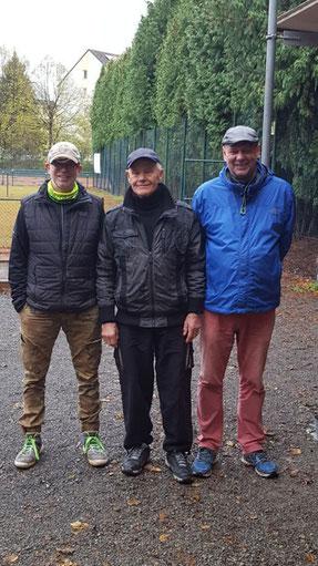 v.l. Torsten, Erwin, Michael