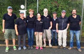 v.l.n.r.: Torsten, Klaus, Birgit, Waltraut, Bernd, Michael, Marcel, Manfred (Walter und Christine fehlen auf dem Bild)