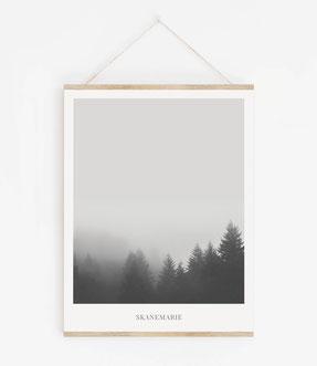 Landskap No.20 - Skandinavische Poster