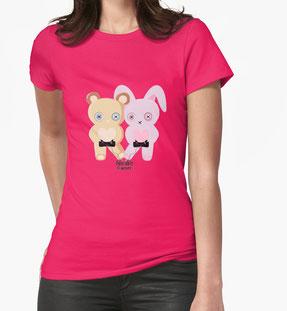 Adorable Gamer ~ Teddy & Bunny