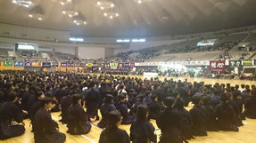 真駒内錬成大会の開会式