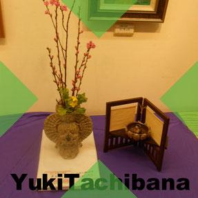 YukiTachibana   444                熊本に眠る父へ想いを込め制作