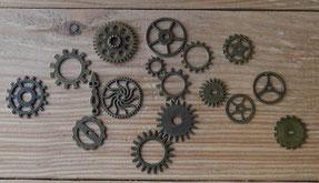 Engrenages lot de 17 pièces