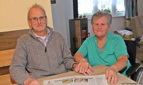 """Josef und Barbara Straßmaier suchten einen """"Schutzengel"""" - und fanden einen Betrüger."""