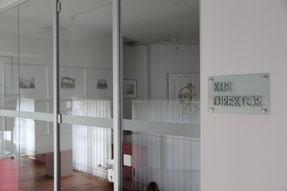 Derzeit steht das Büro des Kurdirektors leer.