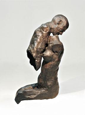 Figur 276, Bronze, 2015, 20x13x10cm