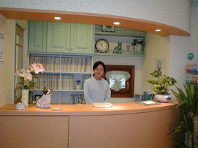 東京ラブリー動物病院の受付の画像です