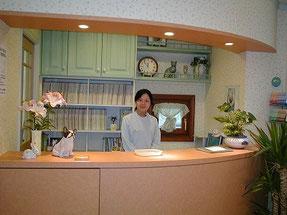 練馬区/東京ラブリー動物病院の受付の画像です