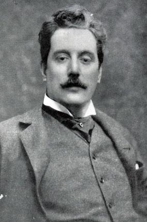 ジャコモ・プッチーニ(1858−1924年) 歌劇『トスカ』1899年プッチーニ41歳の頃の作曲、1900年イタリア・ローマ・コンスタンツ劇場で初演されました。wikipedia