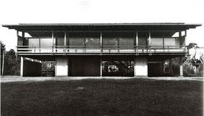 「住居」 1953年 丹下健三の自邸