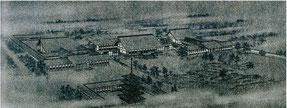 「在盤谷日本文化会館建築懸賞設計」 鳥瞰図 1942年