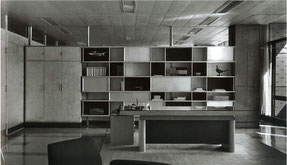 知事室 飾り棚 シャルロット・ペリアン