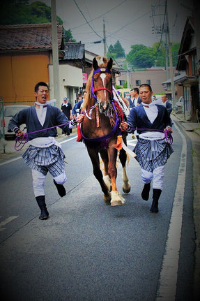 2014 御霊会風流 東郷馬