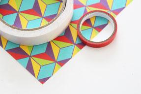 色紙・マスキングテープ・両面テープ