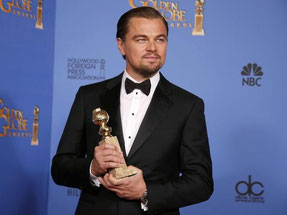 """Leonardo DiCaprio ganó como Mejor Actor en una película de Comedia o Musical por """"El lobo de Wall Street"""""""